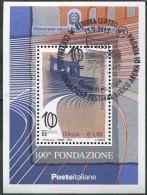 2013 Italia, Foglietto 100° Fondazione Festival Lirico Verona Con Annullo Ufficiale Primo Giorno - 1946-.. République