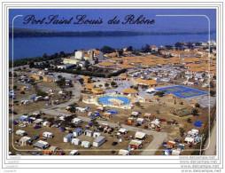 EN CAMARGUE PORT SAINT LOUIS DU RHONE VUE AERIENNE DU CAMPING RIO CAMARGUE - France