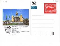 Tschechische Republik 2008. Prumyslovy Palac Vystaviste Praha (5.971) - Czech Republic