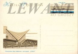 W POLAND - 1963.09.30.Cp 236d - The New Suburban Railway Stations In Warsaw - Ochota - Stamped Stationery