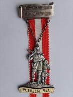 Rare Médaille SUISSE -    8. INT. OSTERMARSCH EFFINGEN AG 1975 - WILHELM TELL - Deportes