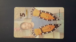 Micronesia-ESM Tel CARD-$5-used Card+3prepiad Free Card - Micronesia