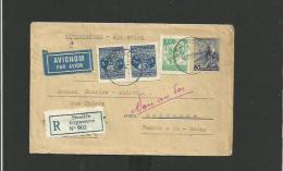 Entier Postal Yougoslavie 1948 Recommandé Pour La France  + Complément D'affranchissement - Covers & Documents