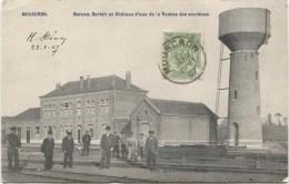 MOUSCRON Bureau, Dortoir Et Châteu D'eau 1907 - Mouscron - Moeskroen