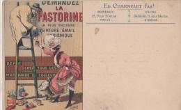 DEMANDEZ LA PASTORINE ( Peinture Email ) - Cartes