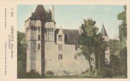 Cpa CHERVEUX Le Château - Frankreich