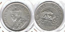 AFRICA DEL ESTE JORGE V SHILLING 1924 C13 - Monedas