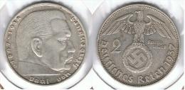 ALEMANIA DEUTSCHES REICH 2 MARK 1937 D  PLATA SILBER. D67 - [ 4] 1933-1945 : Third Reich