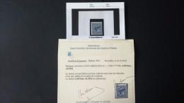 """BELGIQUE Numéro 1745b Neuf  """"Bleu Acier /Staalblauw"""" + Certificat (pièce Rare) - 1951-1975 Lion Héraldique"""