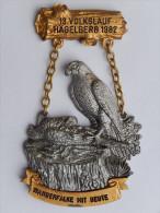 Rare M�daille SUISSE -    13. VOLKSLAUF  1982 HAGELBERG