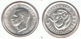 AUSTRALIA SHILLING 1943 PLATA SILVER D68 - Sin Clasificación