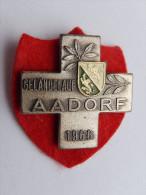 Rare M�daille SUISSE -    GELANDELAUF 1966 AADORF