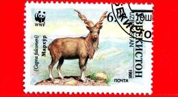 UZBEKISTAN - Nuovo Oblit. - 1995 - WWF - Capra Falconeri - Makhor - 6 - Uzbekistan