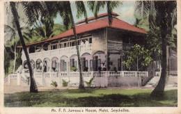 CPA Rare, Mr. F.A. Jumeau's, Mahé, Seychelles - Seychellen
