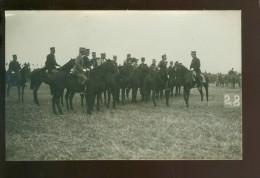 Armée Belge  Soldats  Soldat  Soldaten  Soldaat -  Le Prince Albert Aux Grandes Manoeuvres - Carte Photo Fotokaart - Manoeuvres