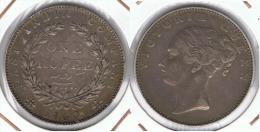 INDIA VICTORIA RUPIA RUPEE 1840 PLATA SILVER D77 - India
