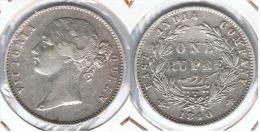 INDIA VICTORIA RUPIA RUPEE 1940 PLATA SILVER D78 - India