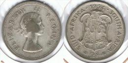 SUDAFRICA SUID AFRIKA  2 SHILLINGS 1954 PLATA SILVER - Sudáfrica