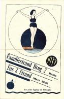 KLEINE AFFICHE / FLYER / FOLDER - 1937 - Reclame Voor Familiestrand Brug 2 Rethy - Sas 3 Strand Maet Moll - TOP - Retie