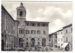 Senigallia Piazza Roma Viaggiata 1953  COD.C.1893 - Senigallia