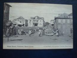 SIERRA LEONE : WATER Street, FREETOWN En 1911 - Sierra Leone