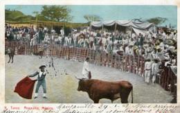 (1005)  CPA  Toros Acapulco Mexico   (bon etat)