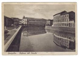 Senigallia Riflessi Del Canale Viaggiata 1942  COD.C.1895 - Senigallia