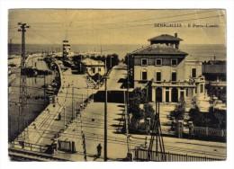 Senigallia Il Porto Canale Viaggiata 1957  COD.C.1896 - Senigallia