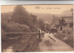 Yvoir Le Bocq, Pecheur, Visser, Fisherman (pk19868) - Yvoir