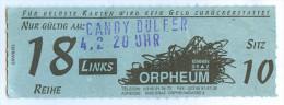 Ticket Eintrittskarte Konzert Candy Dulfer Niederlande Nederland Netherlands Saxophonistin Graz Funk Saxophone Concert - Eintrittskarten