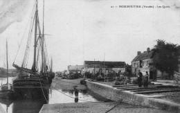 (1005)  CPA  Noirmoutier Les Quais (bon Etat) - Ile De Noirmoutier
