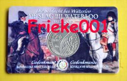 België - Belgique - 2,50 Euro 2015 Comm In Blister.(Slag Bij Waterloo) - Belgique
