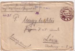 Alte Feldpost- Brief  1. Weltkrieg - Details Siehe Scann - 1918 - War 1914-18