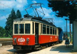 AK Eisenbahn Bahnhof Vöcklamarkt Stern & Hafferl Attergaubahn Lokalbahn Attersee Triebwagen B 4 ET 26107 Bahnladen Rail - Trains
