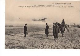C P A---AVIATION----aéroplane ANTOINETTE---monté Par Eugène WELFERINGER ....---voir 2 Scans - Aviadores