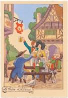 BARRE DAYEZ - La Bière D'Alsace - CPSM 10 X 15 Cm - Autres Illustrateurs