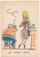 BARRE DAYEZ - Le Tabac Gris , Genestre - CPSM 10 X 15 Cm - Other Illustrators