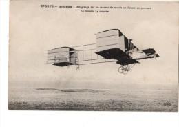 AVIATION----DELAGRANGE Bat Les Records Du Monde En Faisant.....---voir 2 Scans - Aviadores