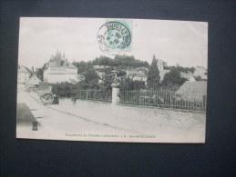 Excursions De Tours à Vouvray Ste Radégonde - Carriole De Boulanger  Circulée 1905  L205A - Autres Communes