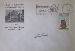 France - Enveloppe - Sandaucourt - 1979 - YT 2042 - Francia