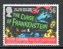 GRANDE-BRETAGNE. N°3033 De 2008 Oblitéré. Frankenstein. - Cinema