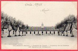 CPA 73 CHAMBERY Caserne De Joppet Intérieur De La Caserne  13éme Bataillon De Chasseurs Alpins - Chambery