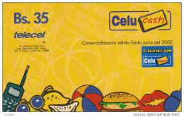 Bolivia, Telecel, Juno 2002, Celucash - Bolivie