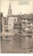 Aurillac- Vieilles Maisons Sur La Jordanne, Clocher De Saint-Géraud -  (a2017) - Aurillac