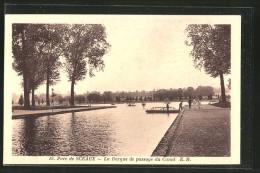 CPA Sceaux-Bourg-la-Reine, La Barque De Passage Du Canal - Sceaux