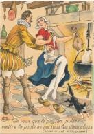 BARRE DAYEZ - Les Mots Historiques , Henry IV - CPSM 10 X 15 Cm - Other Illustrators