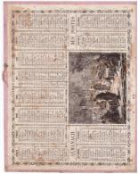 Calendrier Oberthur 1867 (CAL PTT 1867) - Grand Format : ...-1900