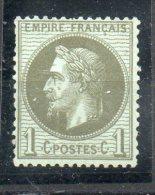 N° 25** A 20/100 De La Cote Net 16 E - 1863-1870 Napoleon III With Laurels