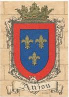BARRE DAYEZ - Anjou - Blason, Héraldique - CPSM 10 X 15 Cm - Illustrateurs & Photographes