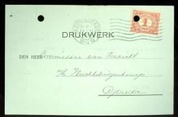 WW-1 * HANDGESCHREVEN BRIEFKAART COMITE VLUCHTELINGEN Uit 1917 Van 's-GRAVENHAGE Naar GOUDA (9819g)) - Periode 1891-1948 (Wilhelmina)